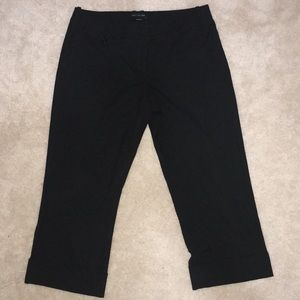 "The Limited ""Drew Fit"" Cropped Slacks"